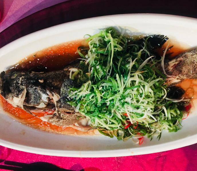 台湾結婚式の料理
