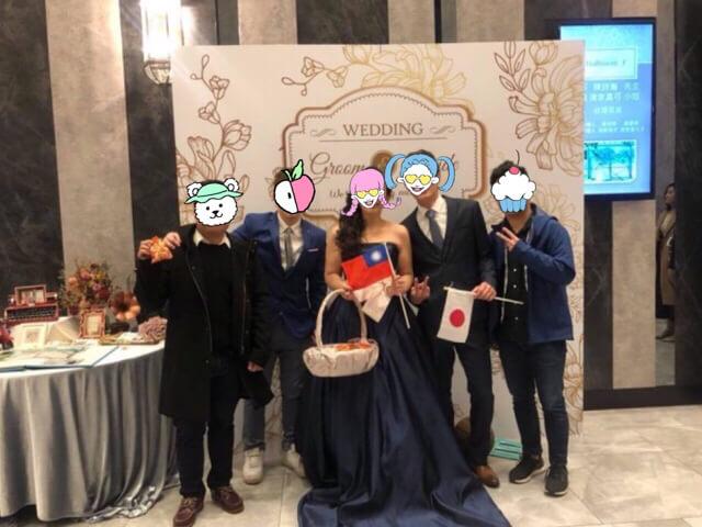 台湾結婚式での服装