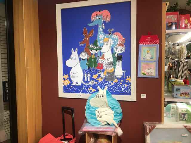 moomin cafe gift