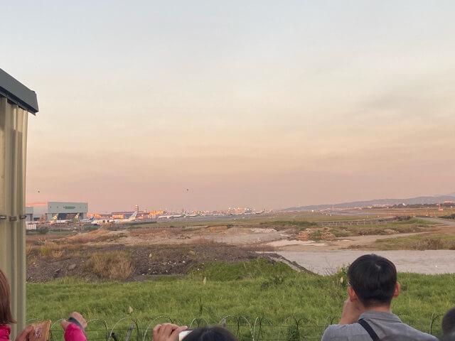 桃園国際空港 滑走路
