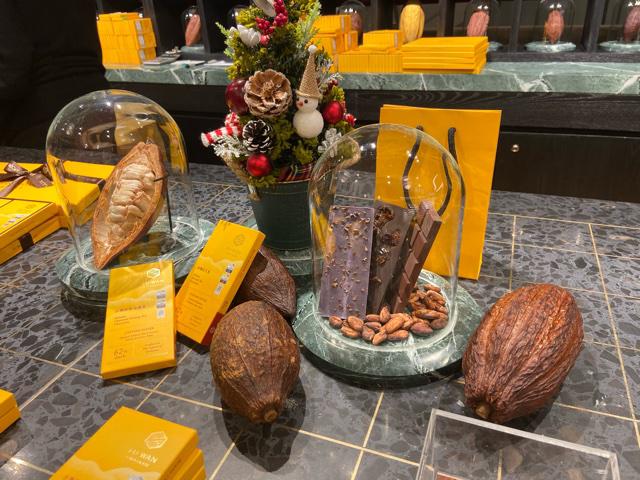 台湾の世界一のチョコレート