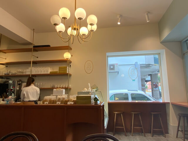 台北カフェla vie bonbon店内