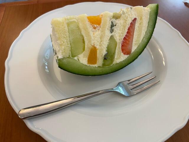 台北カフェla vie bonbonケーキ